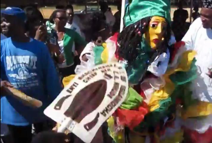 Adanwanma Masquerade (Enugu State) presentation at Igbo Village