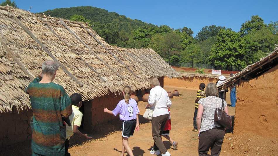 Igbo Village in Staunton, Virginia, USA