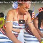 Igbo Girls (Umu Agbogho) Dance at the 2016 Igbo World Festival