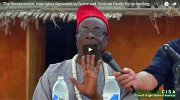 The Reconnection: How Igbos Separated by Space and Time are Finally Re-connecting