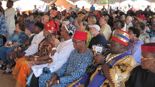 igbo village dedication