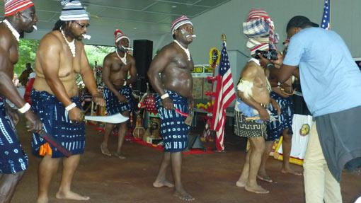 Igbo War Dance performing at Igbo World Festivalval (2016)