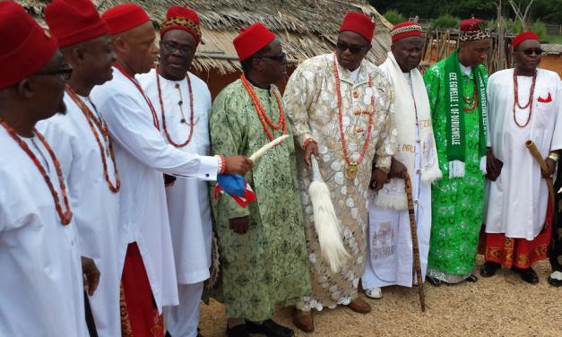 Meet Eze Nri and Dozens of Igbo Leaders – Home & Abroad